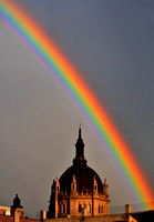 Rainbow St. Paul Cathedral
