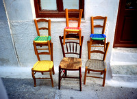 Greek chairs