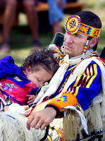 Napping at the Powwow